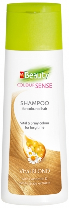 Hair care products for coloured hair