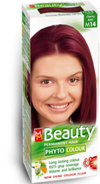 Permanent phyto hair - colour